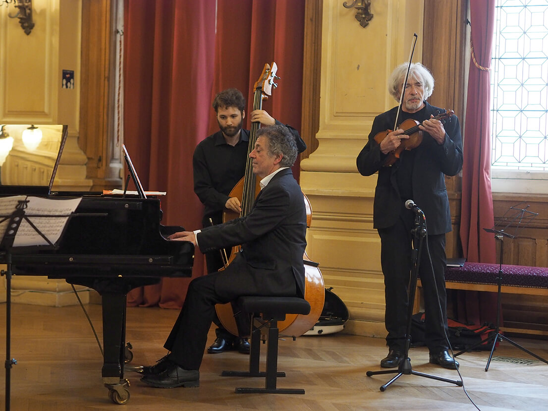 Bruno Girard & Denis Cuniot invitent Rémy Yulzari